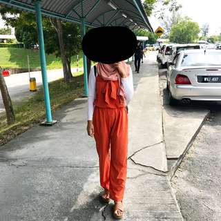 Jumpsuit Burnt orange