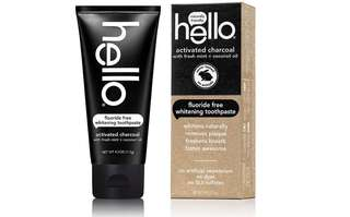[IN-STOCK] Hello Oral Care Activated Charcoal Fluoride Free Whitening Toothpaste - 4 Ounce