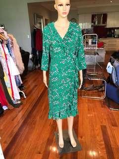 Petal & Pup Wrap Dress