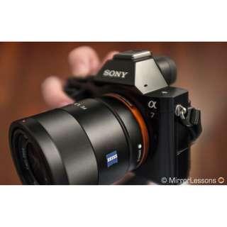 Sony Alpha A7 BO + FE 50mm F1.8 Kredit Free 1x Angsuran