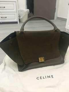 Celine Trapeze Bag Celine Authentic