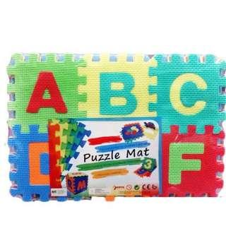 🔥HOT DEAL🔥ABC 36PCS Eva Foam Baby Kids Play Alphabet Number Multicolor Puzzle Mat (Large)