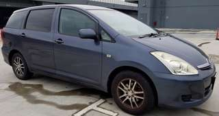 Toyota Wish 1.8A XE (New 5-yr COE)