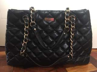 Kate spade black quilted