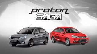 PROTON SAGA FOR ZERO DOWNPAYMENT ✅