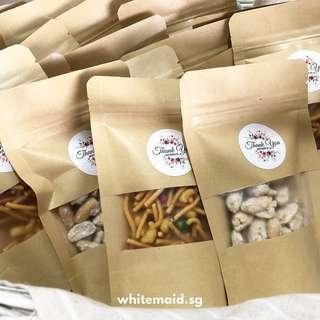 Mini Nuts Kacang Puteh Muruku Pack Berkat