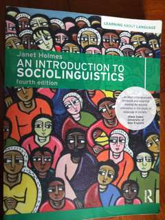 🚚 An Introduction to Sociolinguistics (fourth ed)