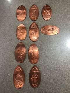 Hong Kong Disneyland Coins / Token 香港迪士尼錢幣