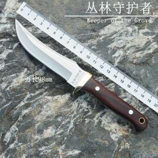 Outdoor Tactics High Hardness Straight Knife 野外户外战术高硬度直刀#521