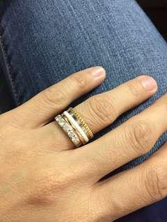Authentic Boucheron Quatre White Small Ring