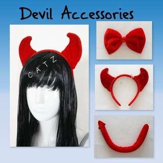 < CATZ >  Halloween Props Halloween Headband Devil Headband Party Accessories