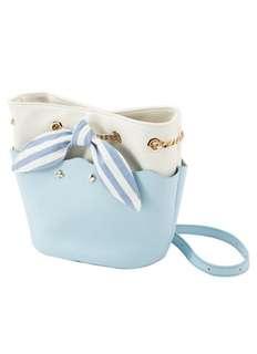 🔆預訂🔆迪士尼 disney Grace gift 愛麗絲 Alice  鍊袋 Pu皮 細袋  斜咩袋 水桶包 粉藍色款