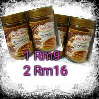 Peanut coklat lady'schoice