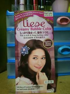 Liese Creamy bubble color