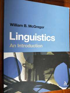 🚚 Linguistics: An Introduction