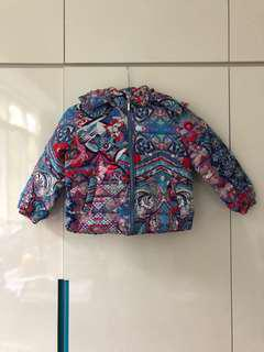 Pucci Design Girls  5-6yrs Winter Jacket with Hood