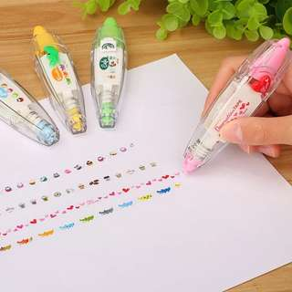 🚚 [In stock] Decoration Art Correction Tape
