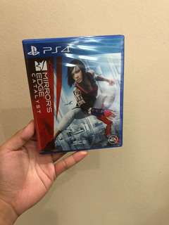 (NEW) MIRROW'S EDGE CARALYST PS4 GAME