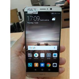 Huawei Mate 9 (64GB) Gold, Phone Only