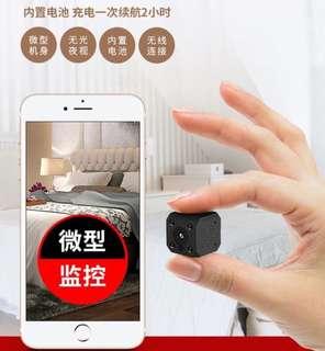 Ip cam 家用小型充電攝像機