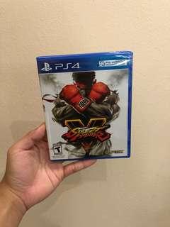 (NEW) STREET FIGHTER V PS4