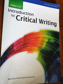 🚚 Introduction to Critical Writing