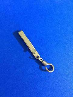 Good quality, stainless steel clip for amulets - Design 2