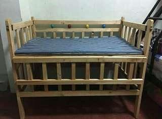 Crib with Uratex foam