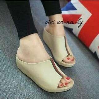 Sandal wedges wanita kokop