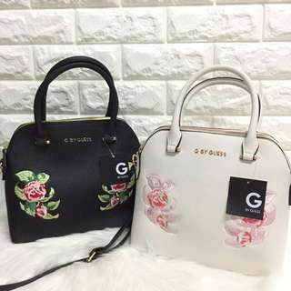 AUTHENTIC GUESS SHELL SATCHEL BAG
