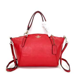 Authentic Coach Kelsey Medium - Hot Red