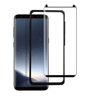 755. Screen Protector for Galaxy S8,FayTun Tempered Glass Screen Protector for Samsung Galaxy S8,3D Curved,Case Friendly,HD Clear,Anti-Scratch, Fingerprint, Bubble Free Screen Protector for Samsung S8