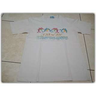 Kaos dolphin Freesize (fit to S - L)