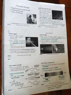 🚚 NTU Astronomy notes
