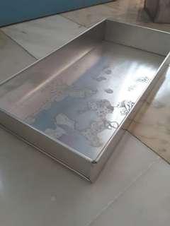 Custom made baking tin