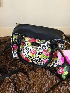 Luv Betsey by Betsey Johnson Mini Barrel Bag