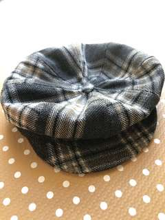 Gatsby Checked Hat