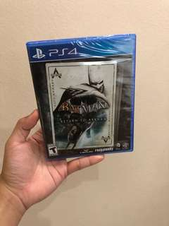 2 GAMES Batman Arkham Knight PS4
