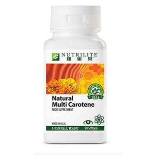 紐崔萊-天然多種胡蘿蔔素.編號  7304