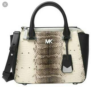 Michael Kors Nolita 蛇皮手袋 全新未拆包裝 有收據