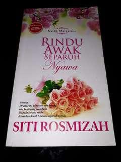 Rindu Awak Separuh Nyawa - Siti Rosmizah , SR Publication