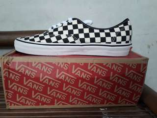 Vans Authentic Checkerboard Goldencoast