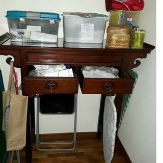 Rosewood chinese altar