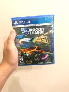 ROCKET LEAGUE 1-4 PLAYERS PS4