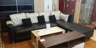 Sofa Premium L Spanyol bisa di cicil tanpa bunga dan DP
