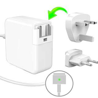 """15.Replacement Macbook Air Charger, 45W MagSafe 2 Power Adapter for Apple Macbook A1466 / A1465 / A1436 / A1435, Macbook Air 11"""" 13"""", Portable Laptop Charger Power Adapter, T-Shape 14.85V 3.05A"""