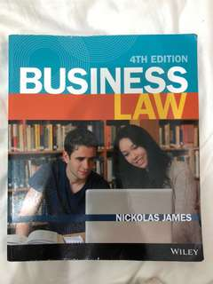 Business Law 4th Edition (extra cheat sheets)