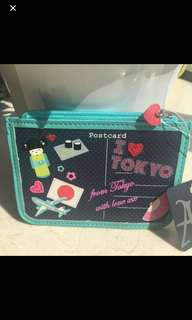 Authentic n new Accessorize post card pouch, bought in London