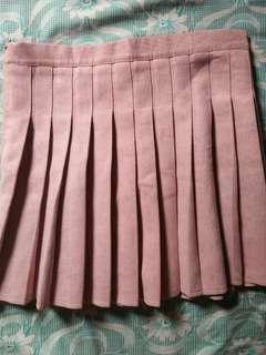 Light Pink Tennis Skirt