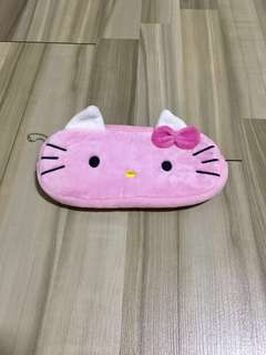 😺BN INSTOCK Adorable Pink Hello Kitty Pencil Case Bag
